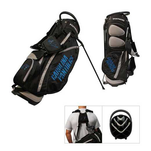30428: Fairway Golf Stand Bag Carolina Panthers